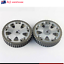 2Pcs-Cam-Gears-Pulley-Aluminum-For-MITSUBISHI-EVO-1-2-3-4-5-6-7-8-9-ECLIPSE-4G63 thumbnail 1