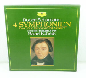 Kubelik-Schumann-034-4-Symphonien-034-NM-Deutsch-DGG-3-lp-Box-2720-077