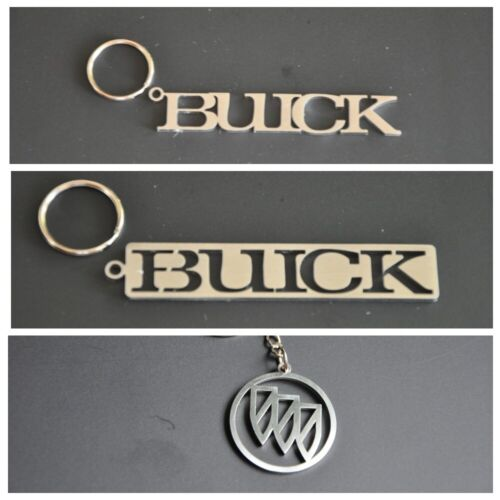 Buick keychain keyring stainless steel