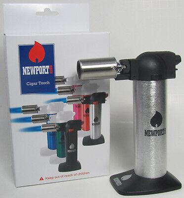 "Newport Zero Gas Butane 5.5/"" Cigar// Kitchen// Chef Torch Lighter Multi Use NBT014"