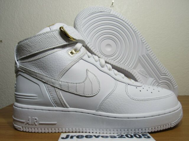 f07c0be39cff0e Nike Mens Air Force 1 Hi Just Don White Ao1074-100 Af100 10 for sale ...