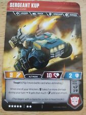 MTX-S2A Guided Missile Launcher Mi Sergeant Six-Gun Upgrade Transformers TCG