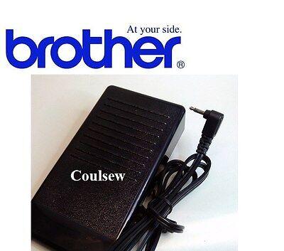 GENUINE BROTHER SEWING MACHINE FOOT CONTROL PEDAL LEAD J2,P,N5V BLACK 350se etc