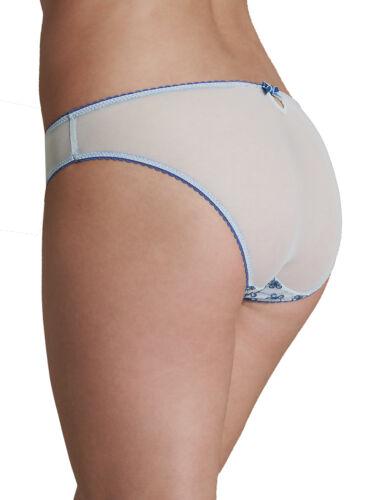 Fa M ou S High St Store M*S Plain Lace Spot Low Rise Bikini Knickers Pants Brief
