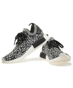 buy online a6bf4 8e7ff Details about [ADIDAS] NMD_R1 PK BY3013 Zebra Black Men's US 8.5 UK 8 CM  26.5 Free Tracking