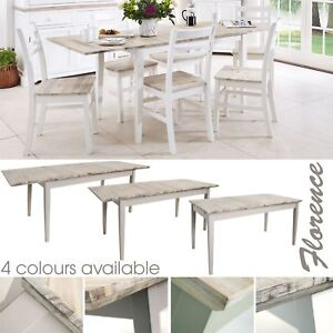 Image Is Loading Florence Rectangular Extending Table Large Kitchen Dining