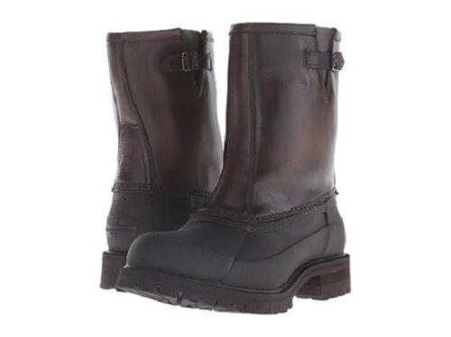 New in Box Mens Frye WaterProof Boots Alaska Pull On Shearling Stone//Multi 86162