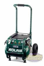 Industrial Contractor Portable 25 Hp Air Compressor Rolair Vt25big 115v 130 Psi