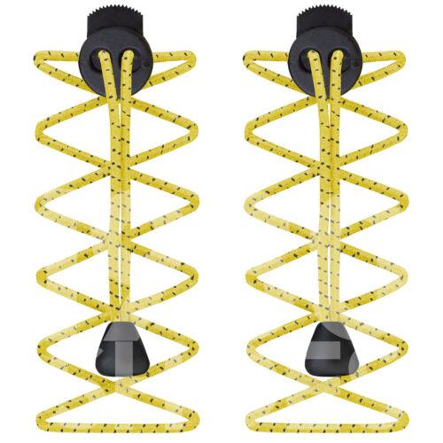 Elástico Deportes cordones Lock Shoelaces Running Triatlón Zapato Trainer Trotar Correr