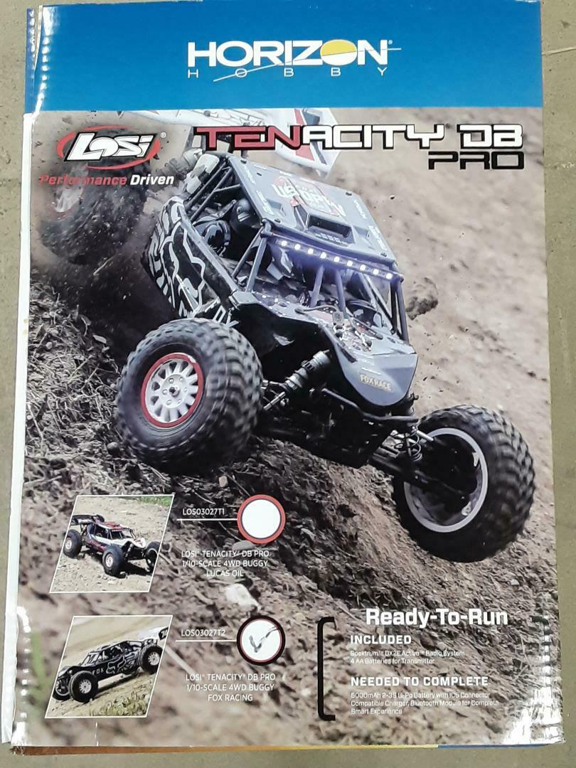 Fox Racing Tenacity DB Pro LOS230071 Losi Body Set