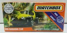 2020 Matchbox ~ Power agarra ~ Carro Grande Banana ~ Yelow ~ Mbx Jungle