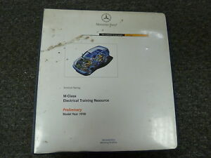 [GJFJ_338]  1998 1999 Mercedes Benz M Class ML320 ML430 SUV Electrical Wiring Diagram  Manual | eBay | 1999 Mercedes Benz Wiring Diagrams |  | eBay