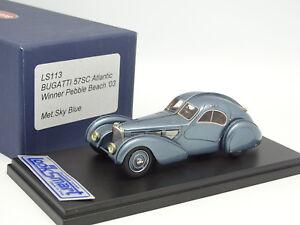 Looksmart-1-43-Bugatti-57-SC-Atlantic-1936-Bleue-Winner-Pebble-Beach-2003