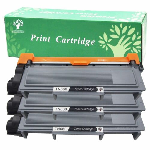 High Yield TN660 Toner for Brother DCP-L2540DN L2560DW HL-L2360DN L2365DW Lot
