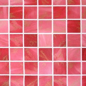 Red Wallpaper Tile Effect Pattern Vinyl Self Adhesive ...