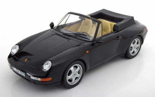 Carrera Convertible  1993 black 1:18 Norev Porsche 911 993