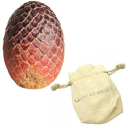 Game of Thrones Drogon Dragon Egg Prop Replica Paperweight - With Pouch