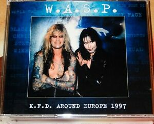 W-A-S-P-WASP-KFD-Tour-1997-Rare-4-DVD-Kiss-Motley-Crue-Motorhead-FREE-SHIPPING