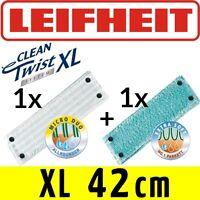 Leifheit Clean Twist System Evo Xl Wischbezug Extra Soft + Micro Duo Set Neu