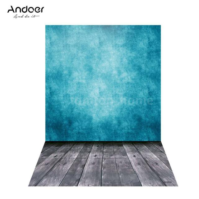 5 * 6.9ft Classic Wall Wooden Floor Photography Backdrop Background Studio V8X4