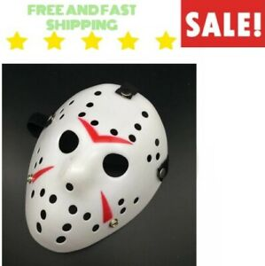 Jason-Voorhees-Friday-the-13th-Horror-Creepy-Cosplay-Scary-Mask-Halloween-amp-NEW