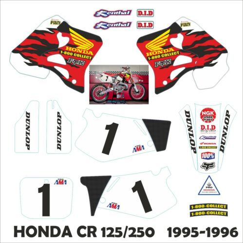 Grafica MC GRATH per HONDA CR 125-250 1995-96