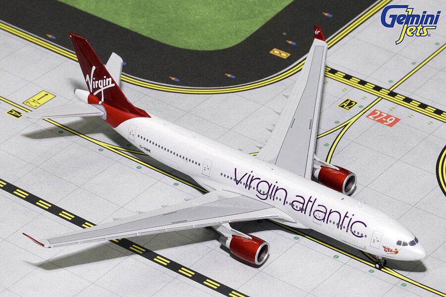 Virgin Atlantic Airbus A330-200 G-VMIK Gemini Jets GJVIR1763 Scale 1 400