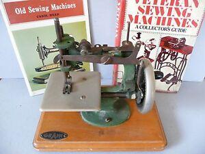 Antique-Child-039-s-Hand-Crank-Sewing-Machine-by-Grain-books