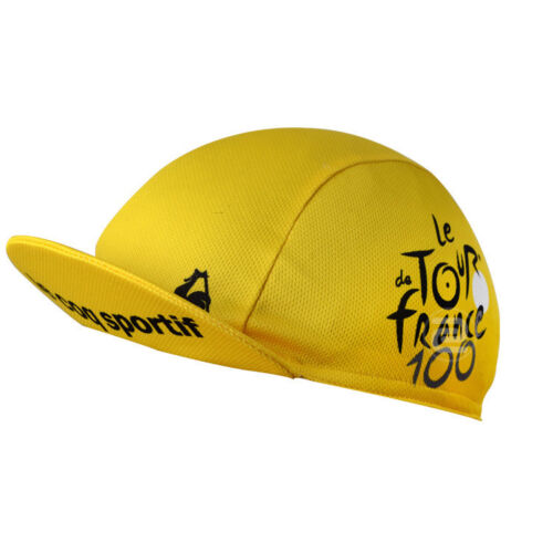 Tour De France Breathable MTB Team Cycling Hat Bike Bicycle Caps Quick Dry