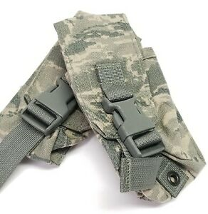 (2) USAF ABU DFLCS Smoke Grenade Pouch MOLLE DF-LCS Utility