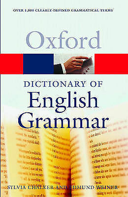 """""""AS NEW"""" The Oxford Dictionary Of English Grammar (Oxford Paperback Reference) ("""