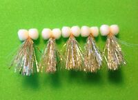 Sparkler Booby Fishing Flies Size 10 - Set Of 5