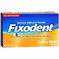 Fixodent Extra Hold,denture Adhesive Powder (pack Of 3)procter & Gamble