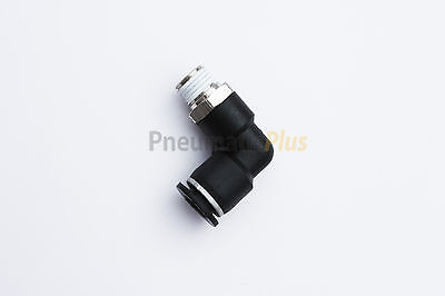 5//16 Tube OD x 1//4 NPT Thread Pack of 5 PC-1//4-N2 Push to Connect Tube Fitting Male Straight