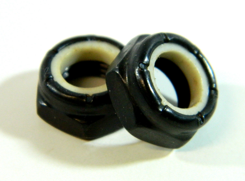 Standard 2 Kingpin Nuts for Skateboard Longboard Trucks Dimebag Lock Nuts 3//8