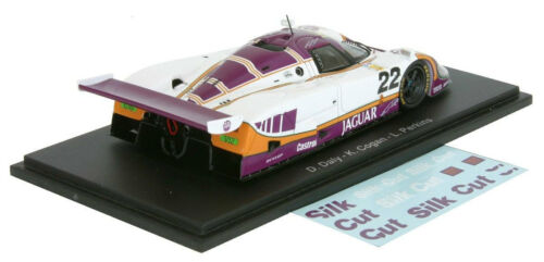Spark S4716 Jaguar XJR9 #22 /'de seda de corte/' 4th Le Mans 1988-escala 1//43