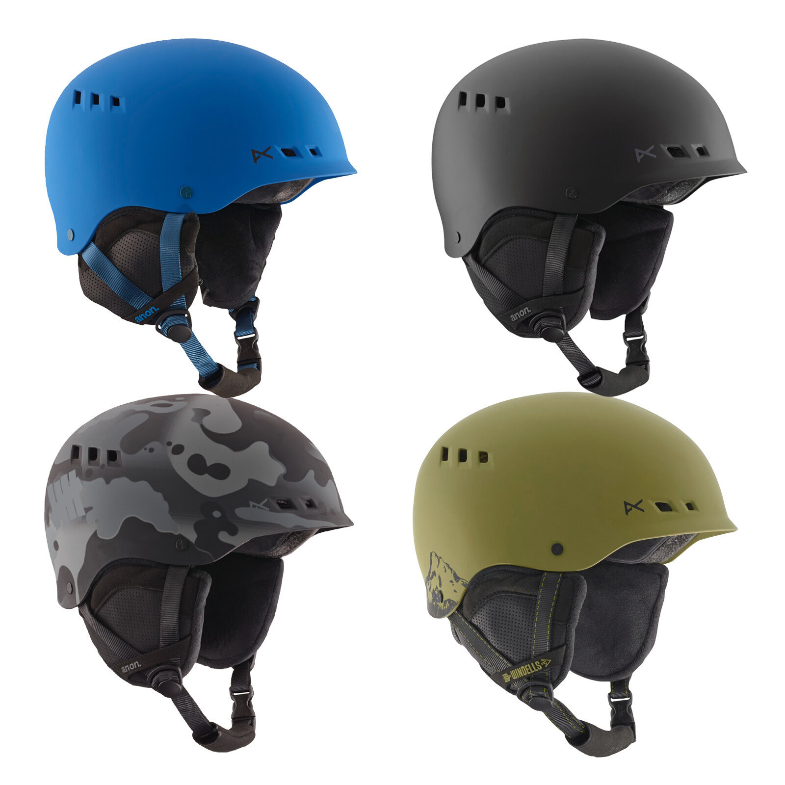Anon Talan Wintersport Protektion Snowboard-Ski-Helm Snowboardhelm Skihelm