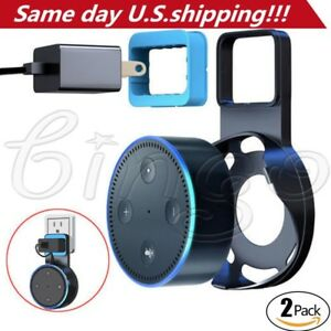 2-Pack-Echo-Dot-Wall-Mount-Stand-Holder-Stand-For-Amazon-Alexa-Echo-Dot-2