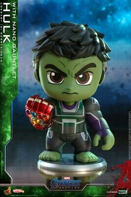 Hot Toys Cosbaby Avengers End-game Hulk Nano Infinity Gauntlet Figure COSB570