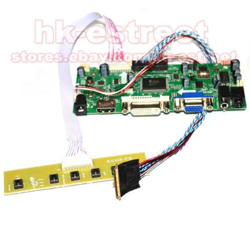 HDMI+DVI+VGA LCD Controller Board for LP156WF1-TLA1 LP156WF1 TL A1 1920*1080@USA