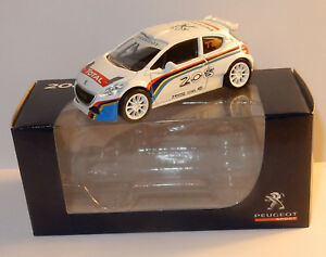 NOREV-3-INCHES-1-64-PEUGEOT-SPORT-208-T16-RALLYE-TOTAL-in-BOX