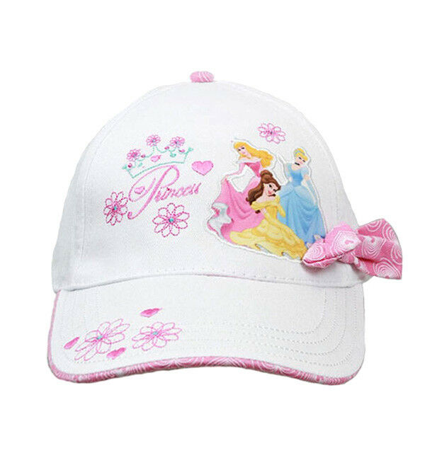 Buy Baseball Cap Disney Princess Pink Bow White Youth Kids Hat PS 418  online  d0e678d41e2