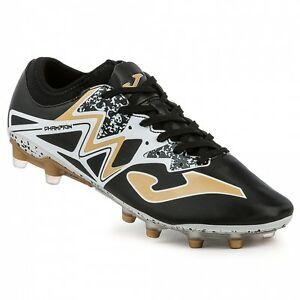 3812ec357a7e Joma Men's Champion Cup 601 Black-Gold Firm Ground Soccer Cleats | eBay