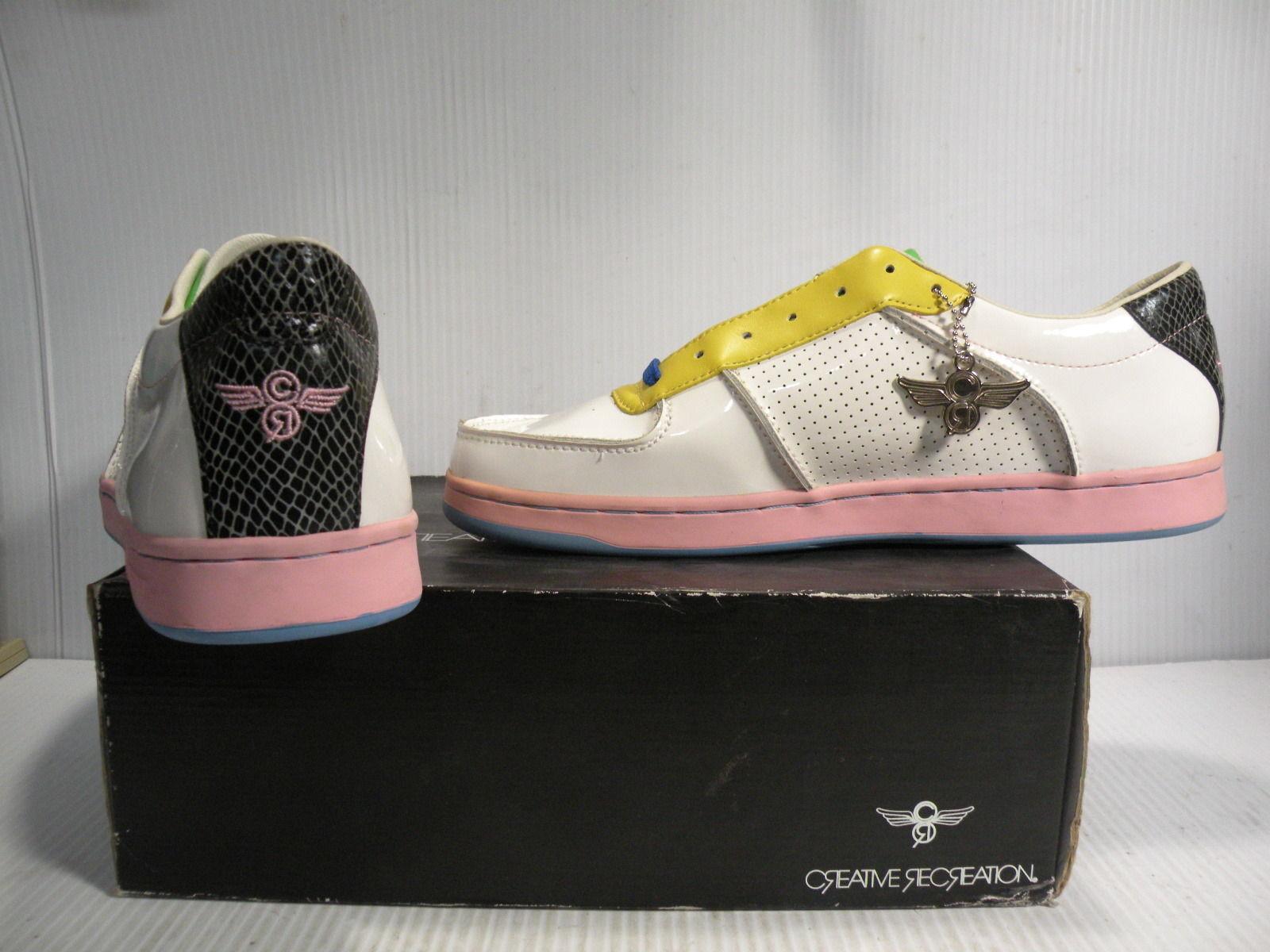 Creative Recreation Recreation Recreation AL Capone P. low scarpe da ginnastica scarpe Uomo bianca pcr68 12 new e04287