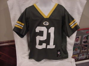 superior quality bcee9 ee9ef Details about SWEET Charles Woodson Green Bay Packers Youth 5-6 Reebok  Jersey, VERY NICE!!