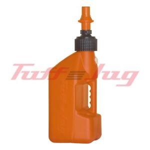 Tuff-Caraffa-20-Litre-Arancio-Tanica-Carburante-con-Rapido-Fill-Ugello