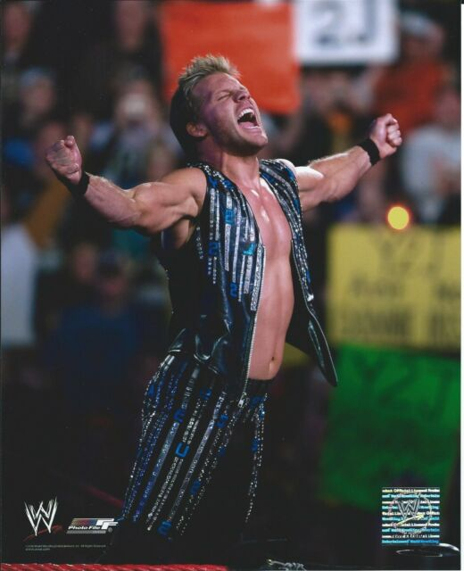 CHRIS JERICHO WWE WRESTLING 8 X 10 LICENSED PHOTO NEW #461