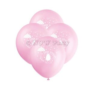 d74f3e86f Image is loading PINK-UMBRELLAPHANTS-Baby-Shower-Girl-Party-Decorations-12-