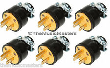 6X Extension Cord Replacement Electrical AC Wall POWER PLUG End Male Connector