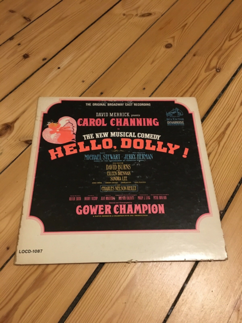 LP, Carol Channing  / Jerry Herman, Hello, Dolly, Andet,…